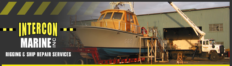 Intercon Marine Inc. - Rigging & Ship Repair Services